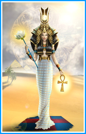 The Goddess Isis There Is No Holding Yourself Back Now